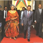 Noraisin'ny filoham-pirenena omaly ny mpanjakavavin'ny Swaziland