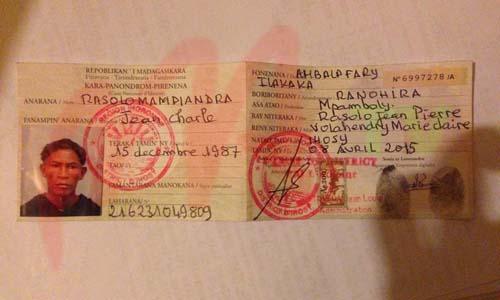 Madagascar Carte Identite.Ihorombe Des Centaines De Fausses Cin Decouvertes Par Les